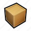box, container, order, package, ship, storage, stuff icon