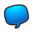 send, chat, message, bubble, email, talk