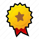 achievements, award, game, gold, medal, star, win