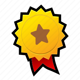achievements, award, game, gold, medal, star, win icon