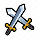 combat, enemy, fight, game, sword icon