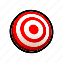 aim, game, mission, objective, shoot icon