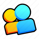 friends, game, multiplayer, user icon