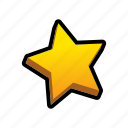 favorite, game, rate, star icon