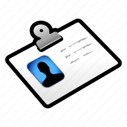 account, badge, id, user icon