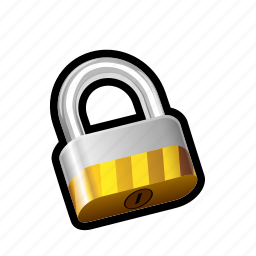 locked, padlock, safe, security icon