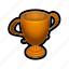 bronze, leaderboards, podium, score, third, win, winner icon