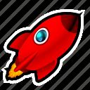 rocket, spaceship