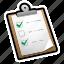 check, done, file, list, mark, task, tasks icon