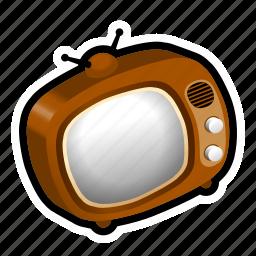 broadcast, film, media, movies, program, television, tv icon