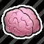 brain, halloween, monster, zombie icon