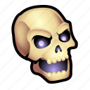 dead, evil, monster, skull, undead, zombie icon