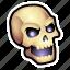 dead, evil, monster, skull, undead, zombie icon