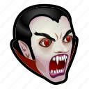 bat, halloween, monster, vampire icon