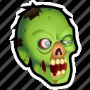dead, evil, halloween, monster, undead, zombie icon