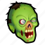 dead, evil, halloween, monster, undead, zombie icon