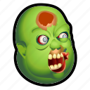 dead, evil, fat, monster, undead, zombie icon