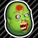 dead, evil, fat, monster, undead, zombie icon