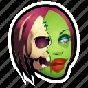 brain, dead, halloween, monster, skull, undead, zombie icon