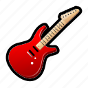 guitar, instrument, music, rock, song