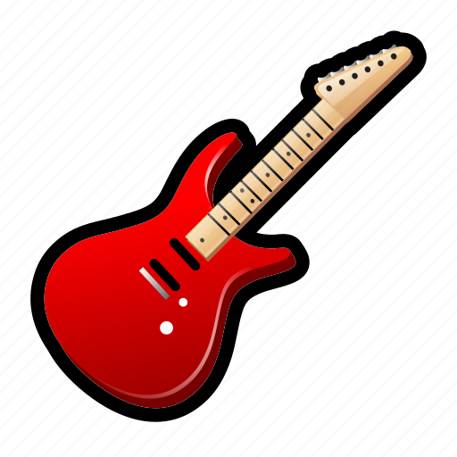 guitar, instrument, music, rock, song icon