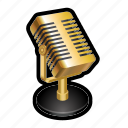 microphone, music, podcast, radio, record, sing
