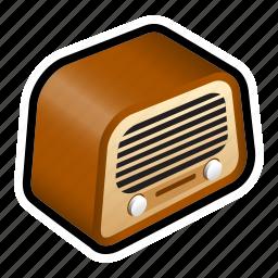 broadcast, music, podcast, radio icon
