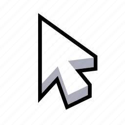 arrow, cursor, mouse, pointer icon