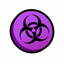 biohazard, death, poison, powerups icon