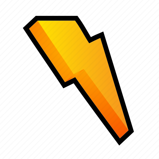 battery, bolt, electric, energy, power, powerups icon