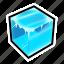 cube, frozen, ice, powerups icon