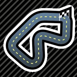 car, circuit, drive, race icon