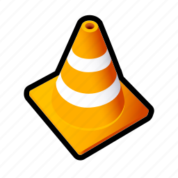 cone, drive, race, stop, street, traffic icon
