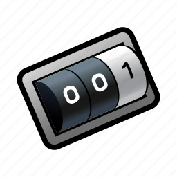 distance, km, length, miles, milestone, odometer, race icon