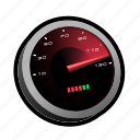 car, drive, fast, gauge, race, speed, speedometer icon