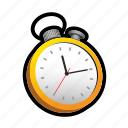 attack, race, stop, time, timer, watch icon