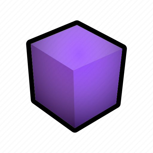 cube, geometry, model, shapes icon
