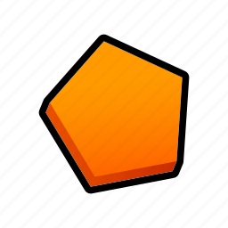 geometry, model, polygon, shapes icon