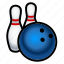 pins, game, ball, bowling, sports