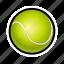 ball, game, racket, sports, tennis icon