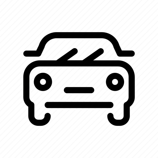 auto, automobile, car, headlights, mobility, windshield, wipers icon