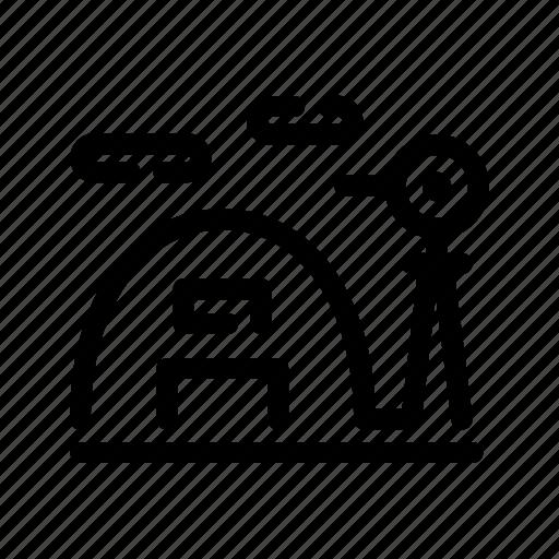 barn, cellar, countryside, farm, storage, storehouse, windmill icon