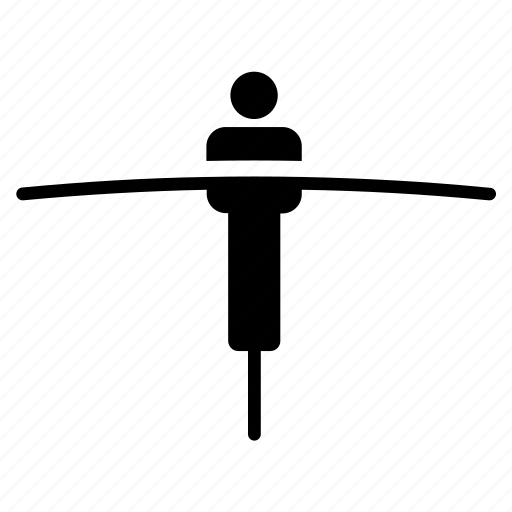 acrobat, balance, balancer, balancier, balancing, circus, equilibrium icon