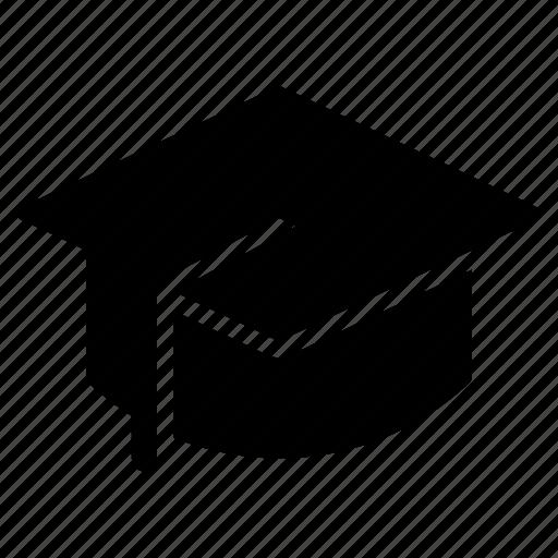 academic, cap, graduation, graduationcap, hat, scholar, school icon