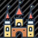ancient, castle, fairy, fairytale, fort, land, palace