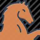 domestic, equestrian, gambling, horse, mustang, races, running