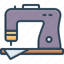 appliance, instrument, machine, needlework, sewing, stitching, tailoring icon