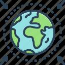 area, locality, realm, region, scope, sector, zone icon