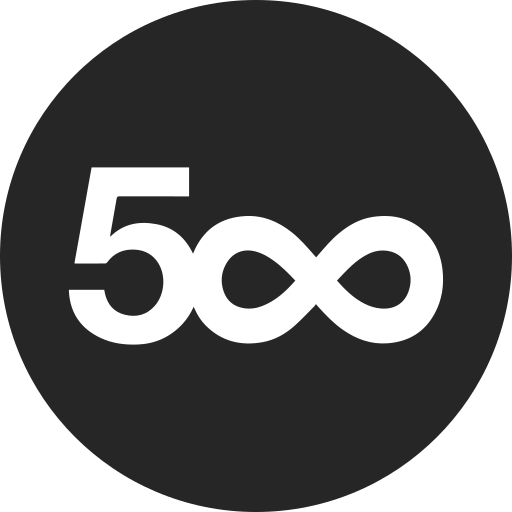 five, hundred icon