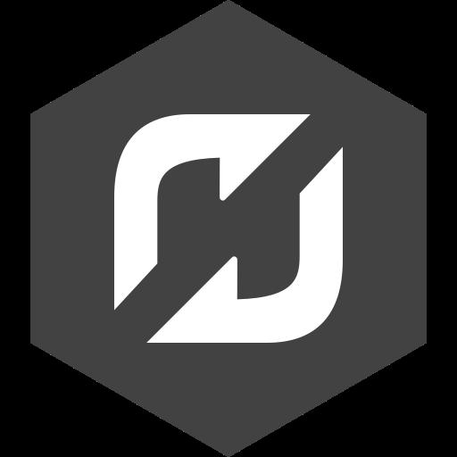 flattr, hexagon, media, social icon